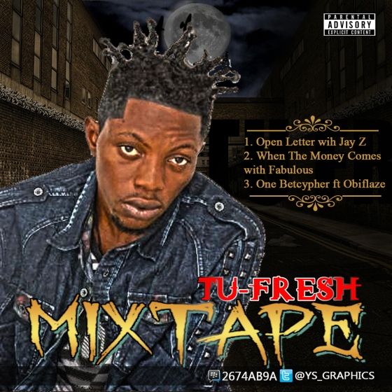 TUFRESH MIXTAPE COVER BY YSG
