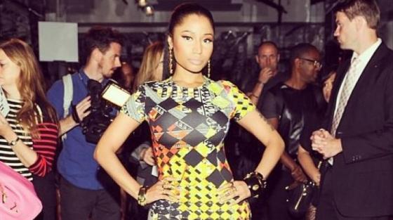 Nicki Minaj Signs to Iman's Modeling Agency